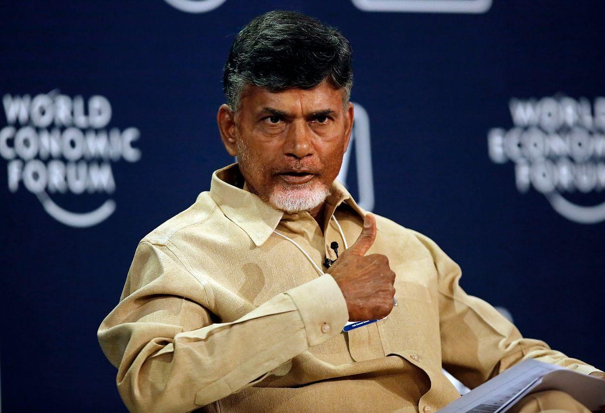 Chief Minister of Andhra Pradesh N ChandrababuNaidu (Photo: Reuters)