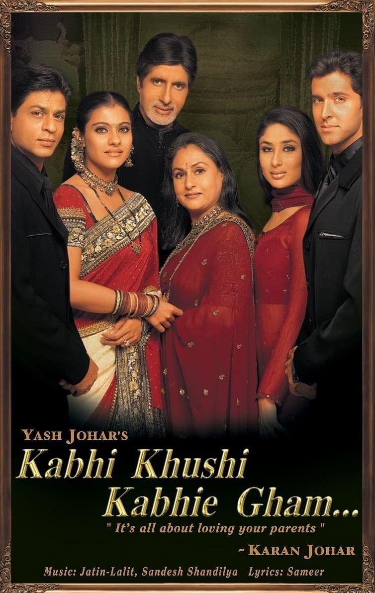 Film Poster:Kabhi Khushi Kabhi Gham (2001)