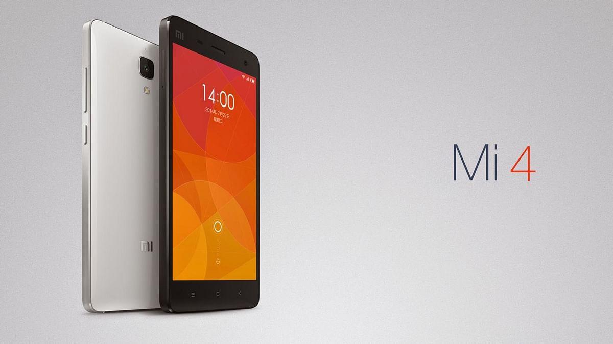 Xiaomi Mi 4 (Photo: Xiaomi)