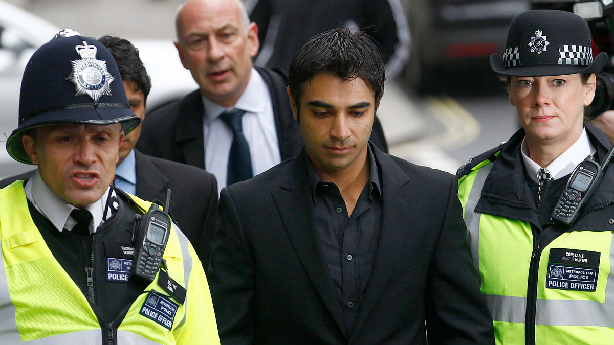Former Pakistan cricket test captain, Salman Butt at the Westminster Magistrates Court in London in March, 2011 for their hearing in the spot-fixing case. (Photo: Reuters)