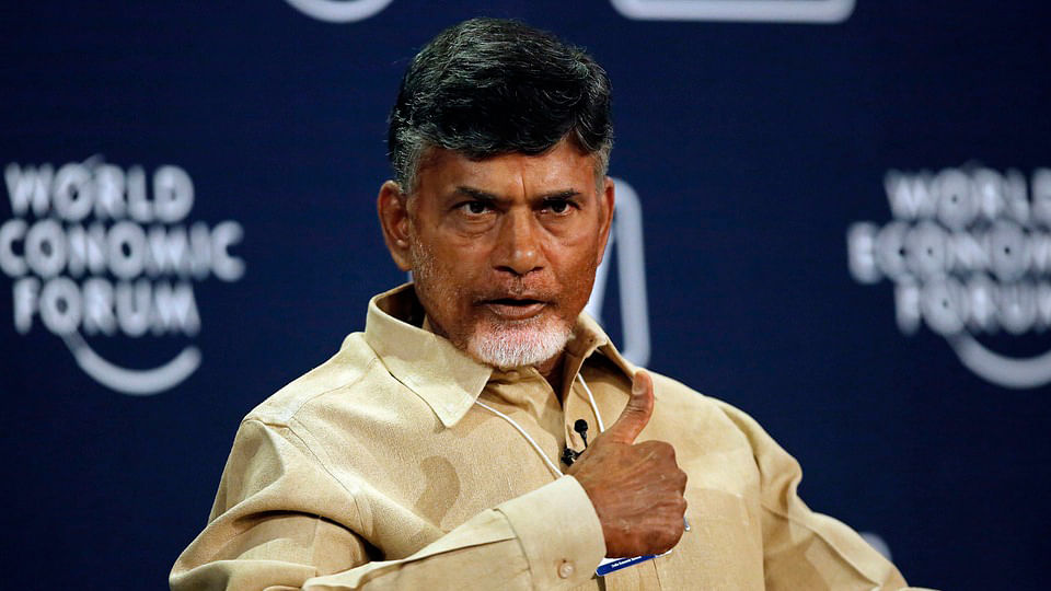 Andhra Pradesh Chief Minister N Chandrababu Naidu. (Photo: Reuters)