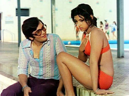 Dimple Kapadia and Rishi Kapoor in <i>Bobby</i>&nbsp;