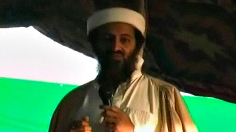 Slain Al Qaeda leader Osama bin Laden is seen in this still image taken from a video. (Photo: Reuters)