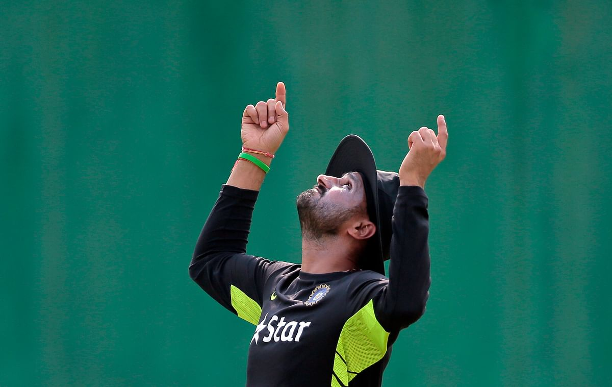 Harbhajan Singh is back in the Indian ODI team after a gap of four years. (Photo: AP)