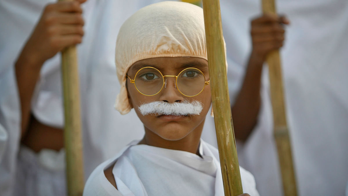 Gandhi believed that education should be revolutionised to answer the wants of the poorest which is the aim of the 25% reservation for EWS under the 20009 Right to Education Act. (Photo: Reuters)