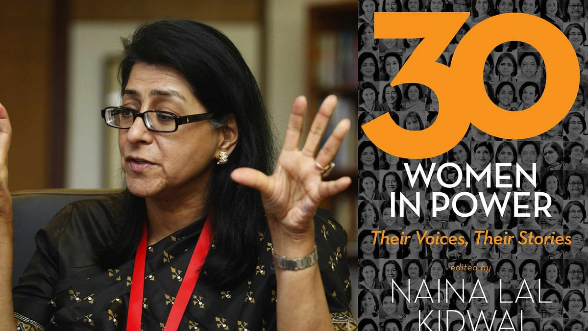 <i>30 Women In Power </i>is edited by Naina Lal Kidwai, Chairperson, HSBC India
