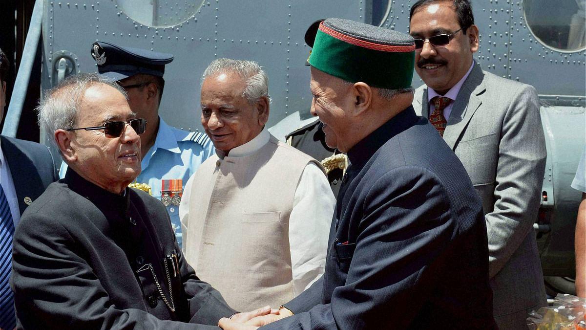 File photo of Himachal Pradesh Chief MinisterVirbhadra Singh. (Photo: PTI)