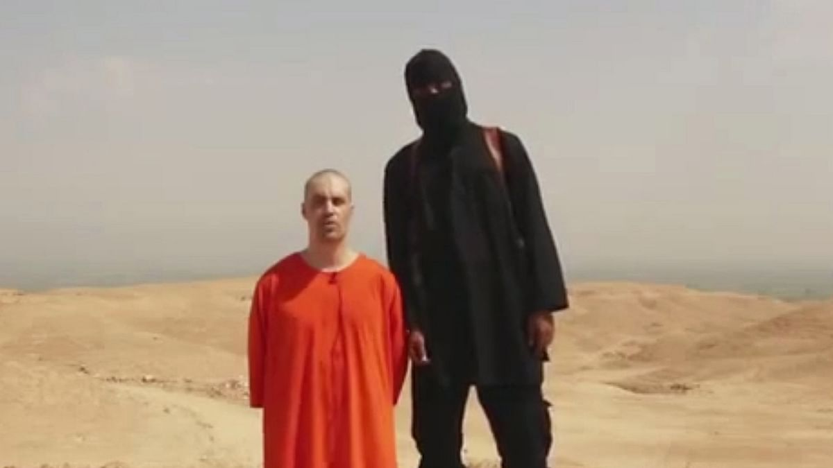 This image is from a video released by Islamic State militants on August 19, 2014 to show the killing of journalist James Foley. (Photo: AP)