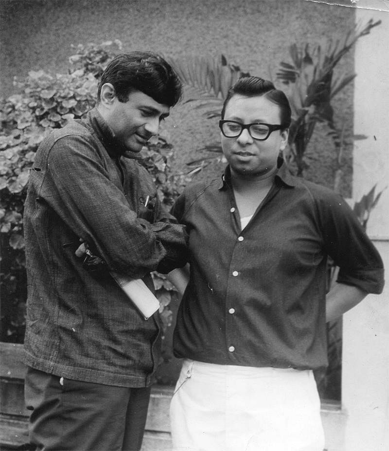 "Dev Anand with&nbsp;RD Burman (Photo: Facebook/<a href=""https://www.facebook.com/pages/Pancham-Unmixed/391118874275789?sk=photos_stream"">PanchamUnmixed</a>)"