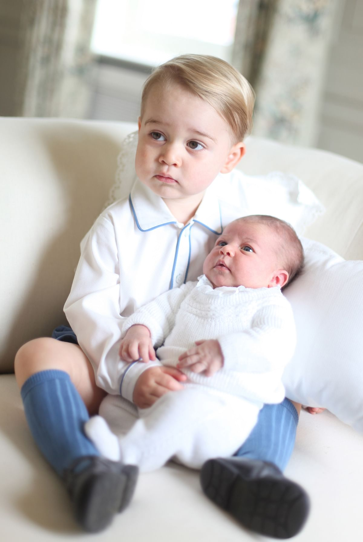 These pictures were taken by Catherine in mid-May at Anmer Hall in Norfolk, the country home where the royal couple stay with their children. (Photo: Reuters)