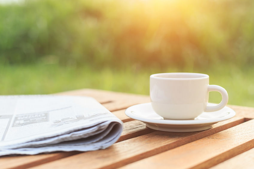 <!--StartFragment-->Nothing like your morning cuppa and a newspaper on a Sunday. (Photo: iStockphoto)<!--EndFragment-->