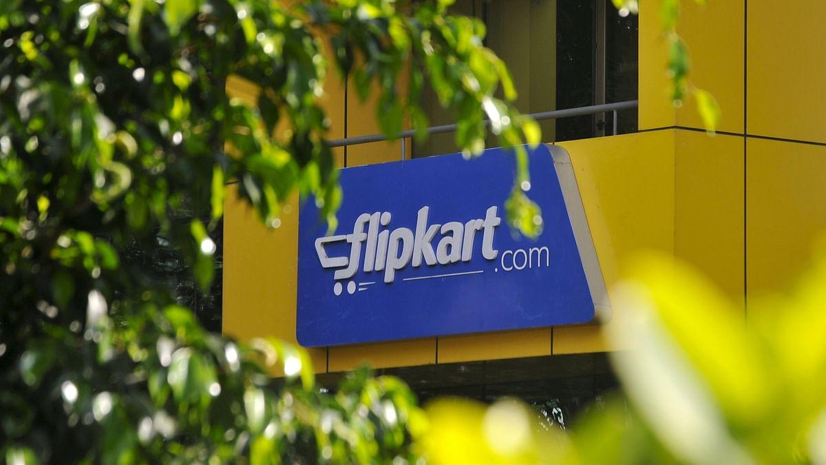 The logo of India's largest online marketplace Flipkart.