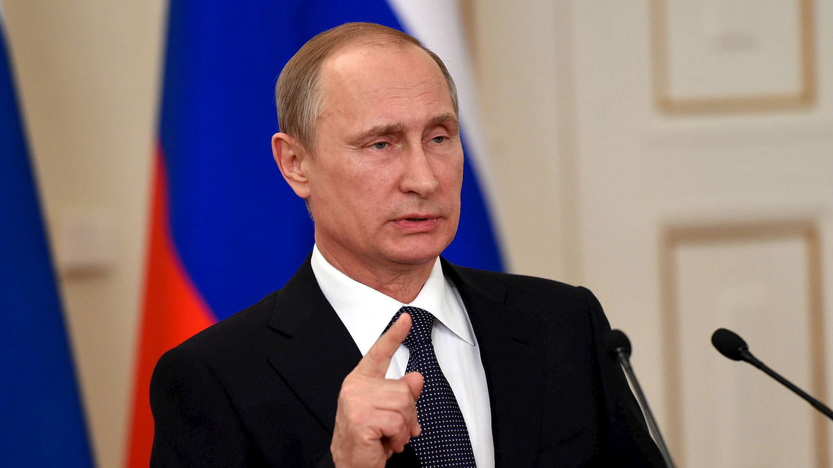 Russian President Vladimir Putin. (Photo: Reuters)