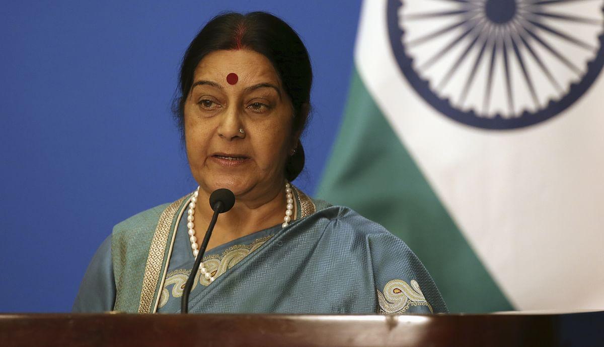 External Affairs MinisterSushma Swaraj (Photo: Reuters)
