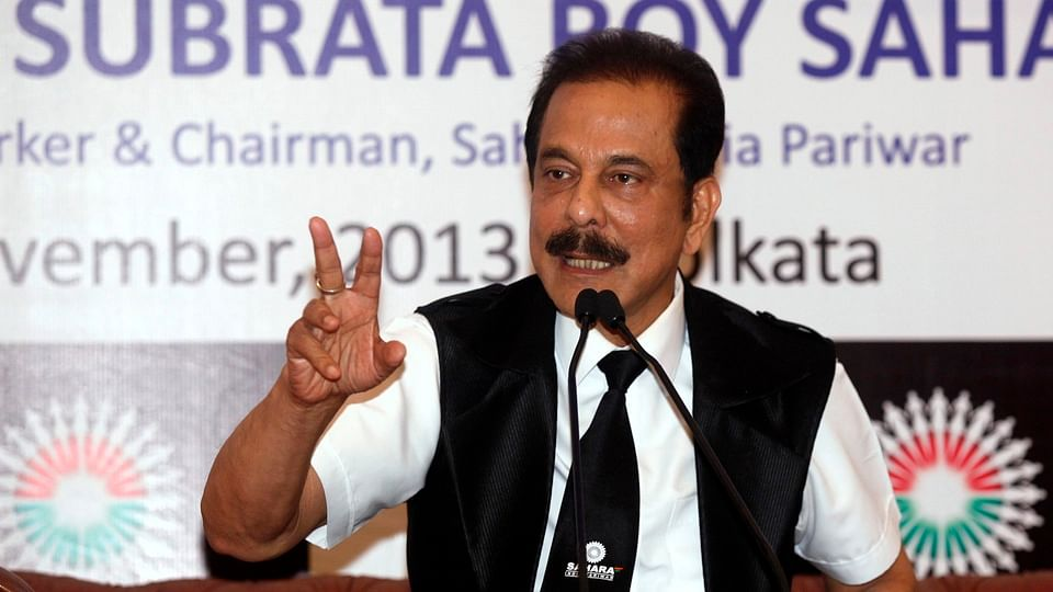 Sahara Group Chairman Subrata Roy, who is still behind bars as his company continues to struggle to raise funds and secure bail for him. (Photo: Reuters)