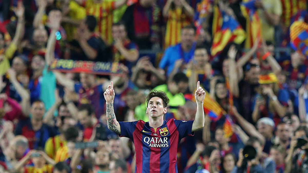 Lionel Messi, as always, will be key to Barcelona's chances of completing a treble this season. (Photo: Reuters)
