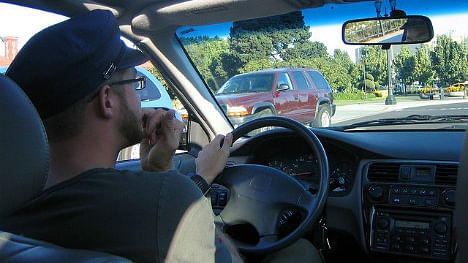 A driver has been fined €80 for biting his fingernails. (Photo Courtesy: Flickr.com/adaenn)