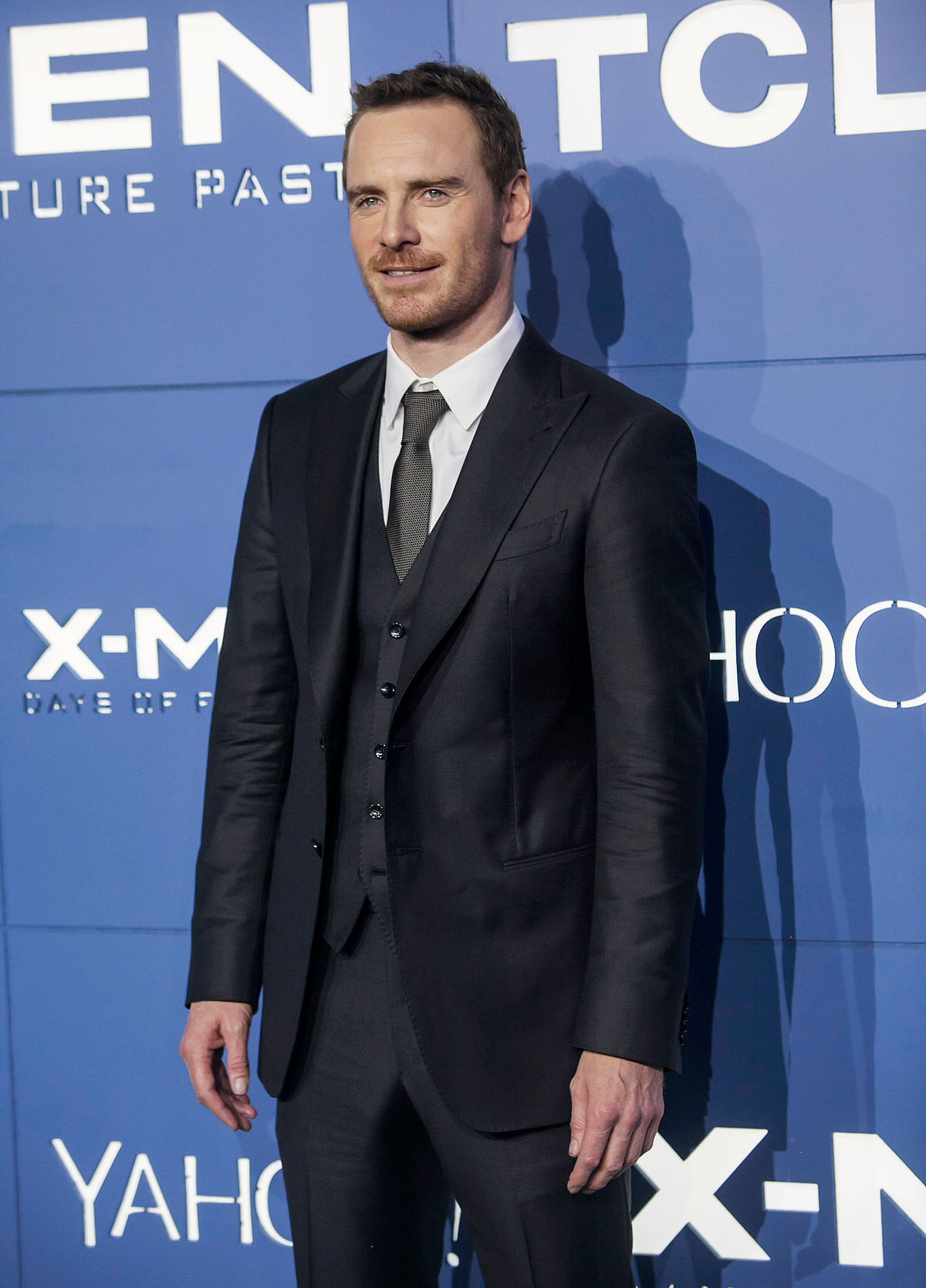 Actor Michael Fassbender attends the <i>X-Men: Days of Future Past</i> world movie premiere in New York. (Photo: Reuters)