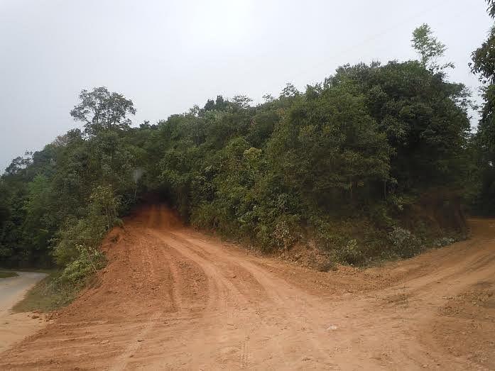 The Chandel-Vomku Road. (Photo: Maitreyee Handique)