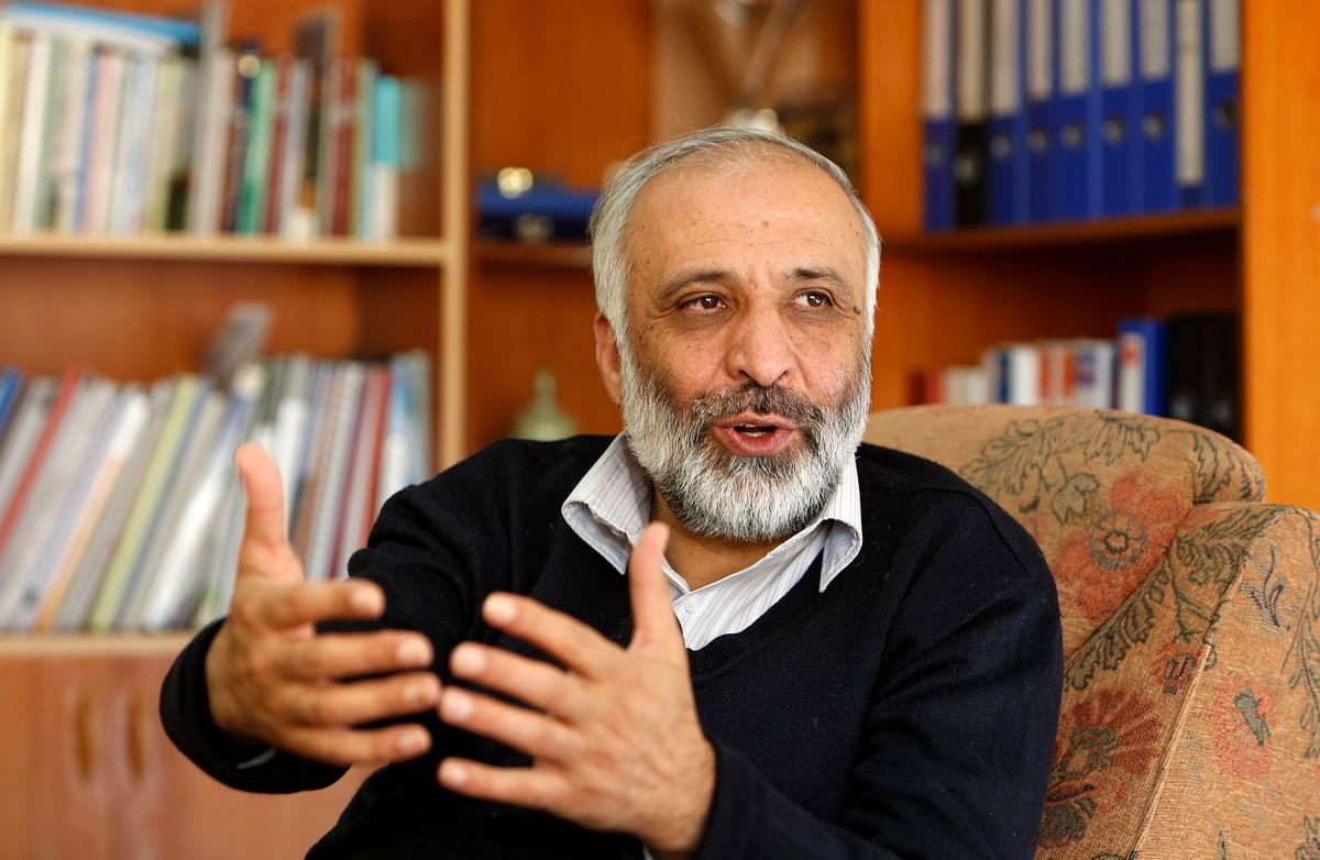 Mohammad Masoom Stanekzai speaks during an interview in Kabul December 31, 2012. (Photo: Reuters)