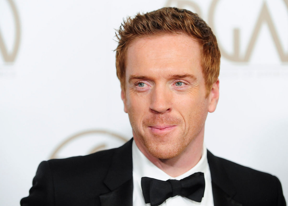 Actor Damian Lewis arrives at the Producers Guild of America Awards in Beverly Hills, California. (Photo: Reuters)