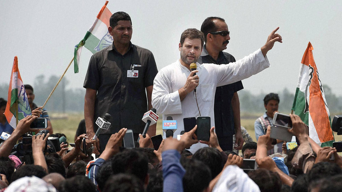 File photo ofCongress Vice President Rahul Gandhi. (Photo: PTI)