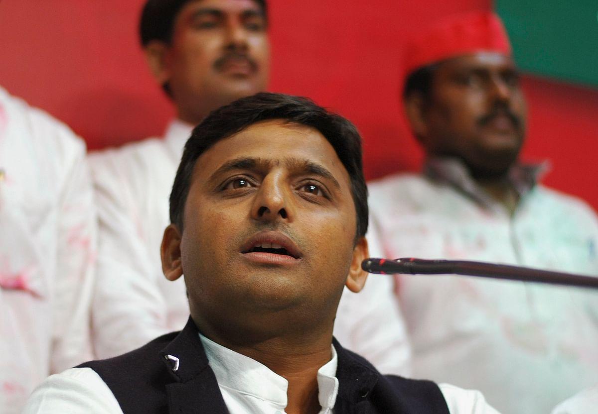 Uttar Pradesh CM Akhilesh Yadav. (Photo: Reuters)