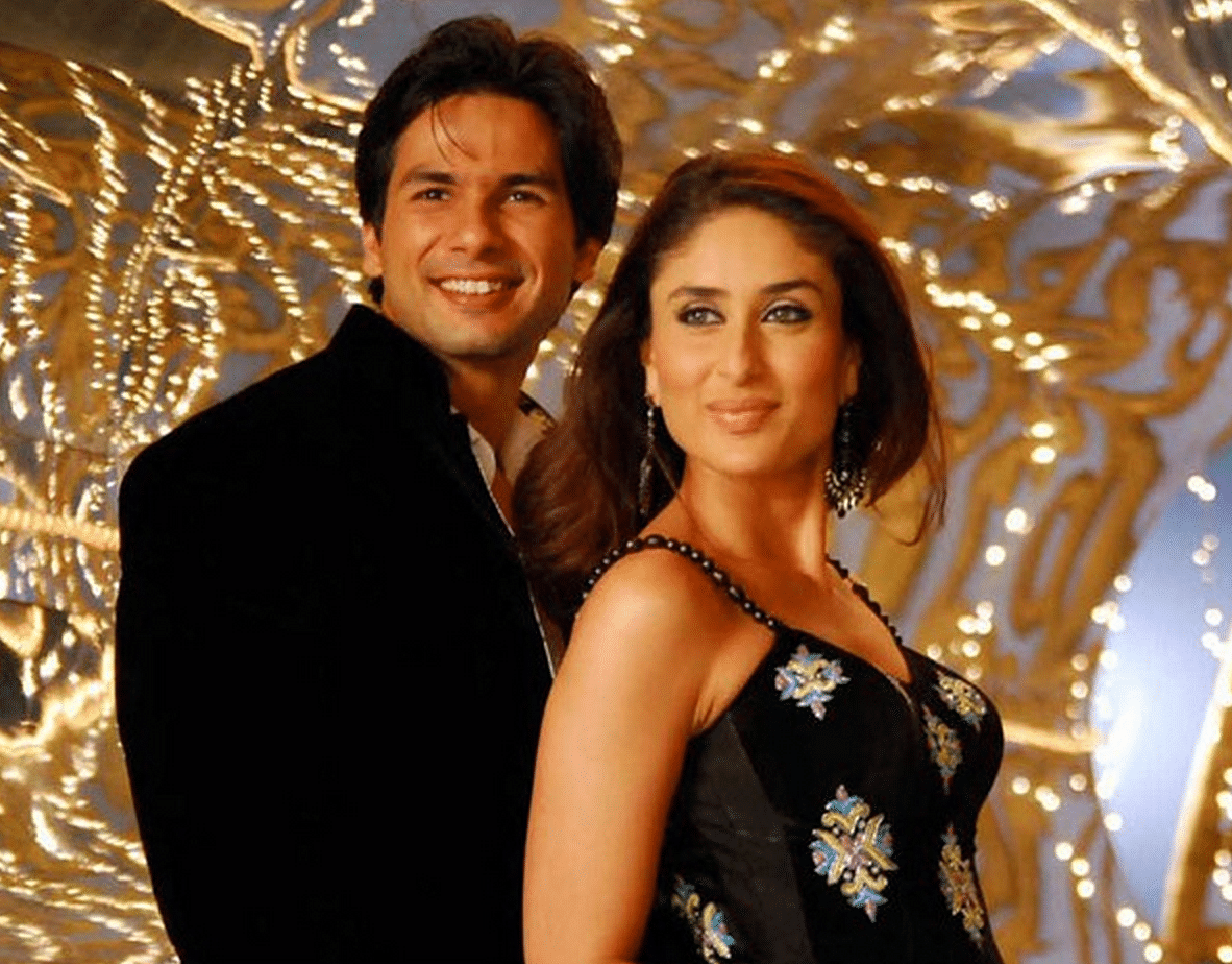 Kareena Kapoor with Shahid in a still from their last successful outing together <i>Jab We Met</i>