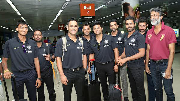 The Indian ODI specialists arrive in Bangladesh on Monday. (Photo: twitter.com/BCCI)