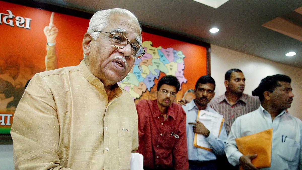 File photo of UP Governor Ram Naik. (Photo: Reuters)