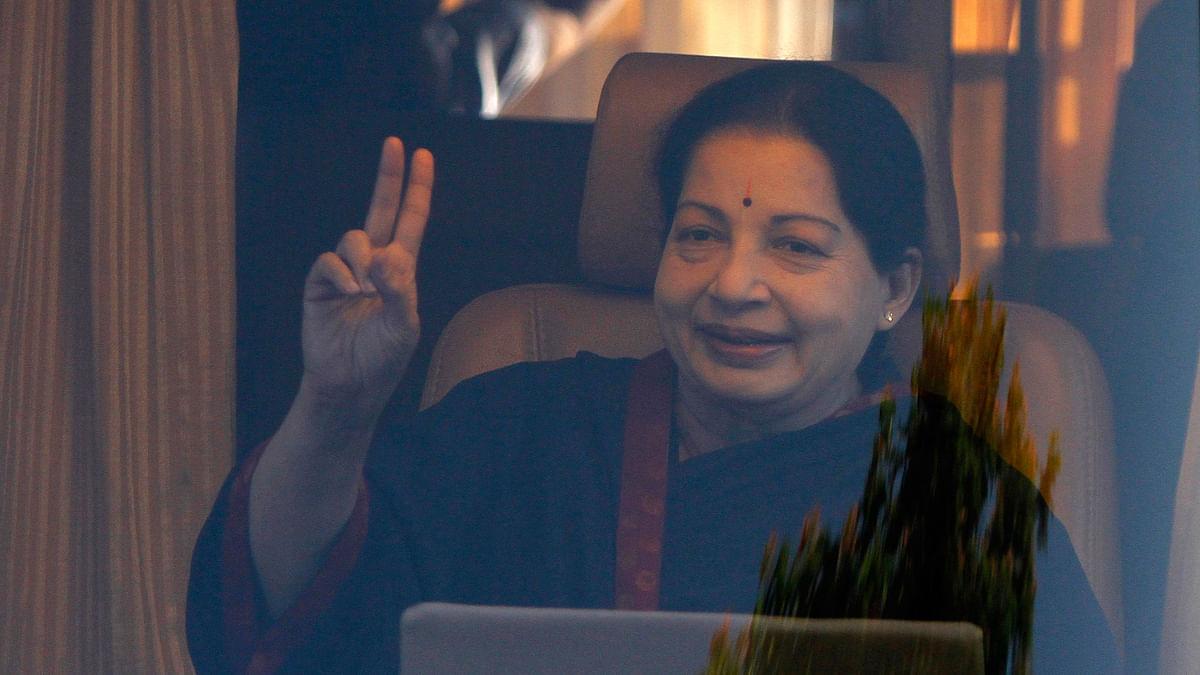 Tamil Nadu Chief Minister J Jayalalithaa. (Photo: Reuters)