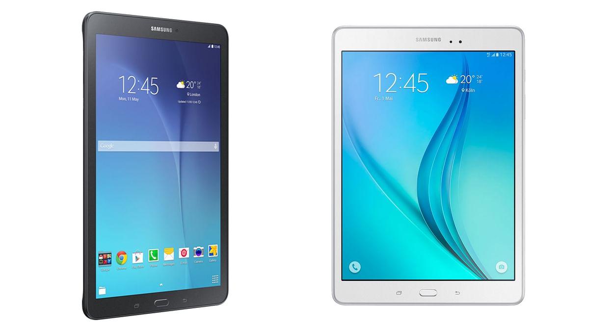 Samsung Galaxy Tab E(Left) and Samsung Galaxy Tab A. (Photo: Samsung)