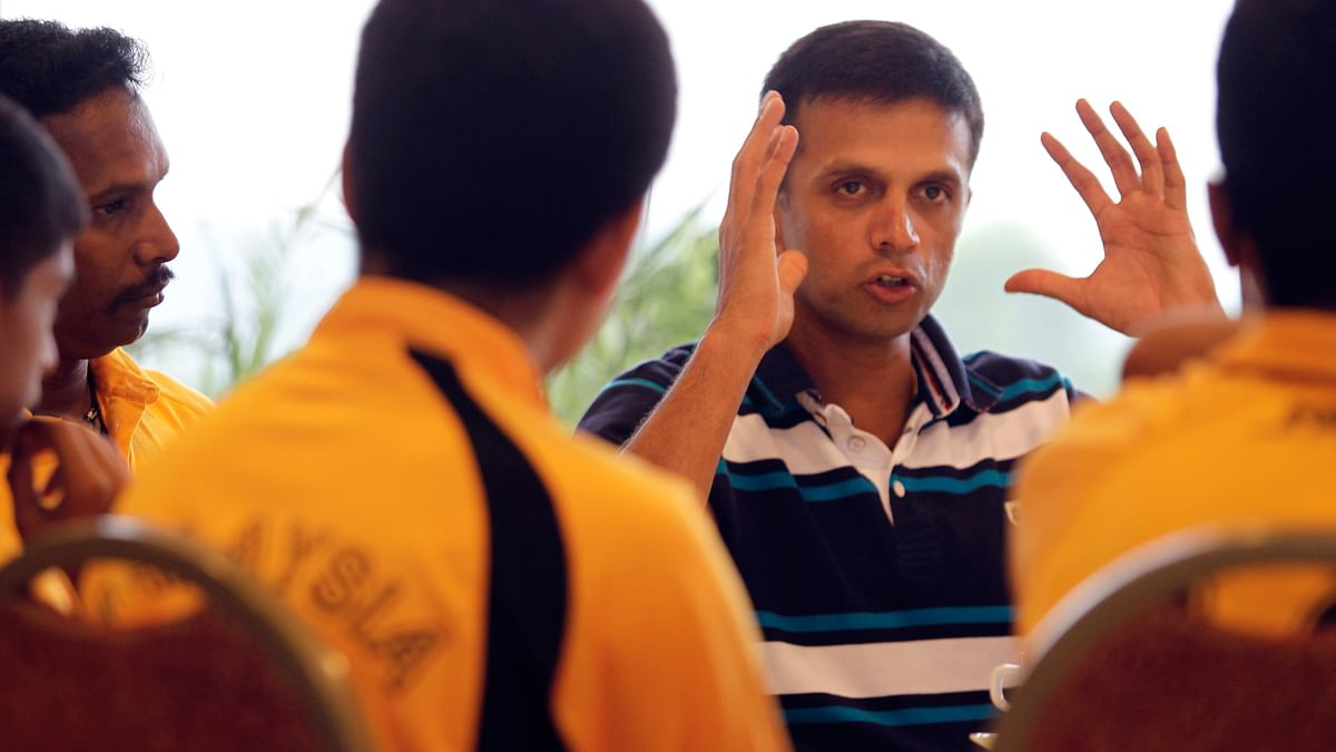 Former Indian cricketer Rahul Dravid. (Photo: Reuters)