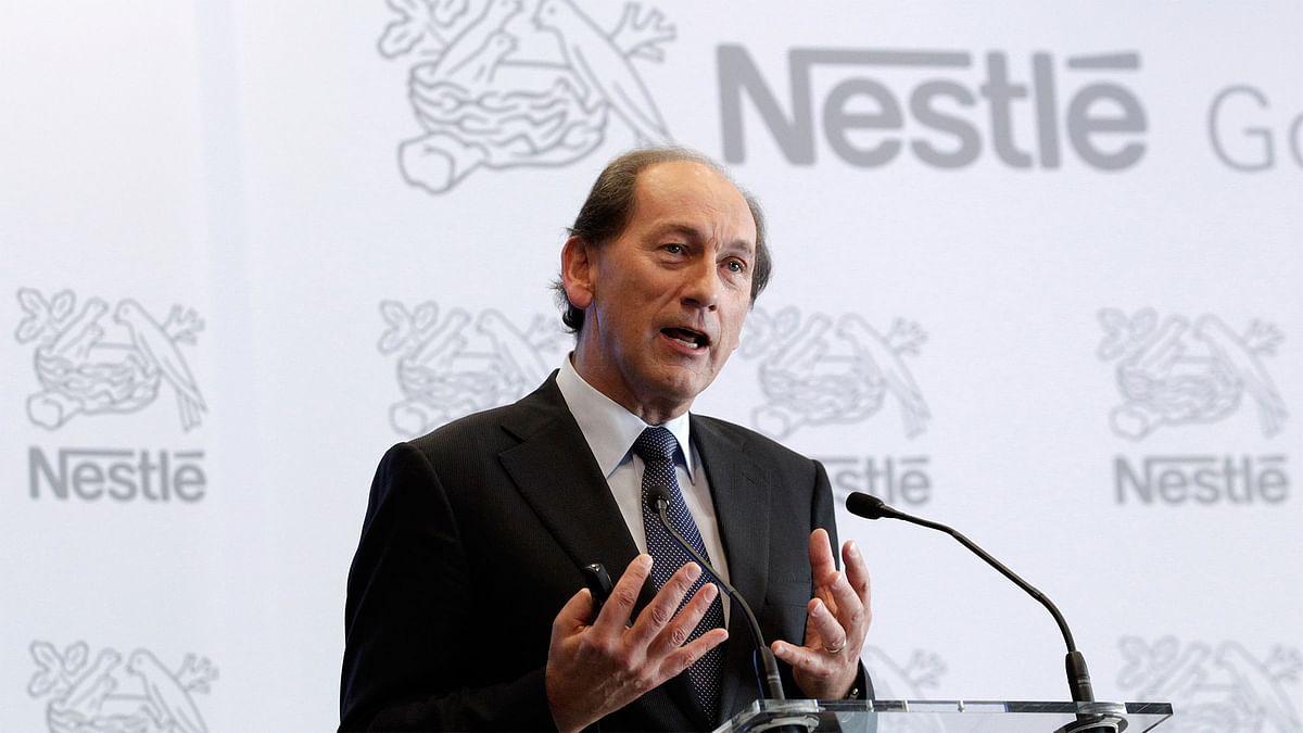 Nestle global CEO Paul Bulcke. (Photo: Reuters)