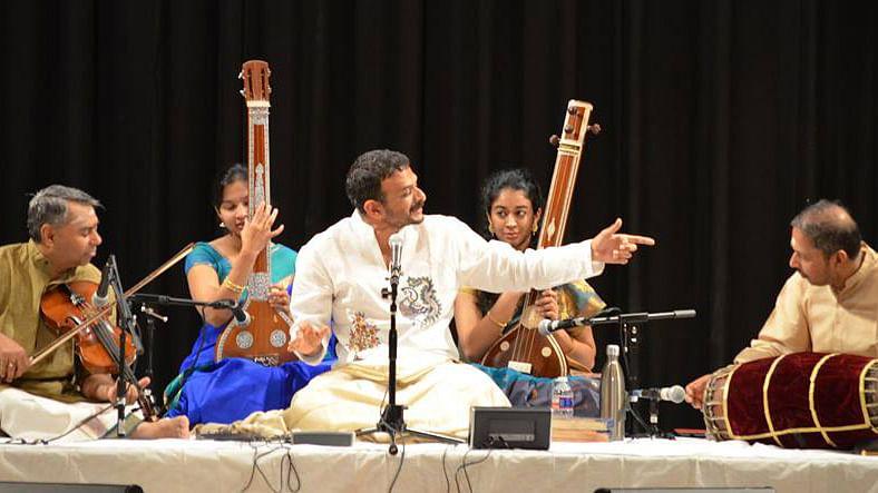 "TM Krishna performing at a concert. (Courtesy: <a href=""https://www.facebook.com/tmkrishna/timeline"">TM Krishna's Facebook Page</a>)"