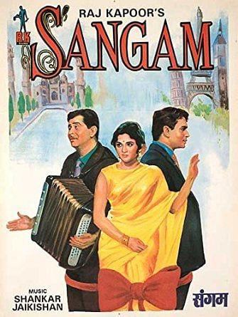 A poster of <i>Sangam.</i>