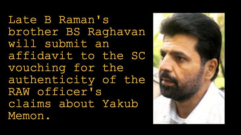 Exclusive: B Raman's Emails On Yakub Memon's Arrest May Offer Hope