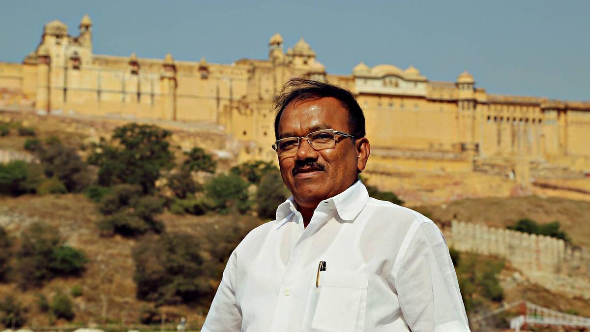 """Goa CM Laxmikant Parsekar. (Photo: <a href=""""https://www.facebook.com/media/set/?set=a.179475028833596.38070.179473965500369&amp;type=3"""">Facebook</a>)"""