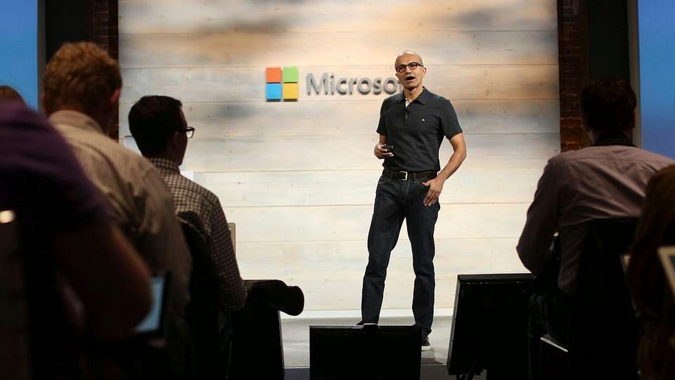 File picture of Microsoft CEO Satya Nadella.(Photo: Reuters)