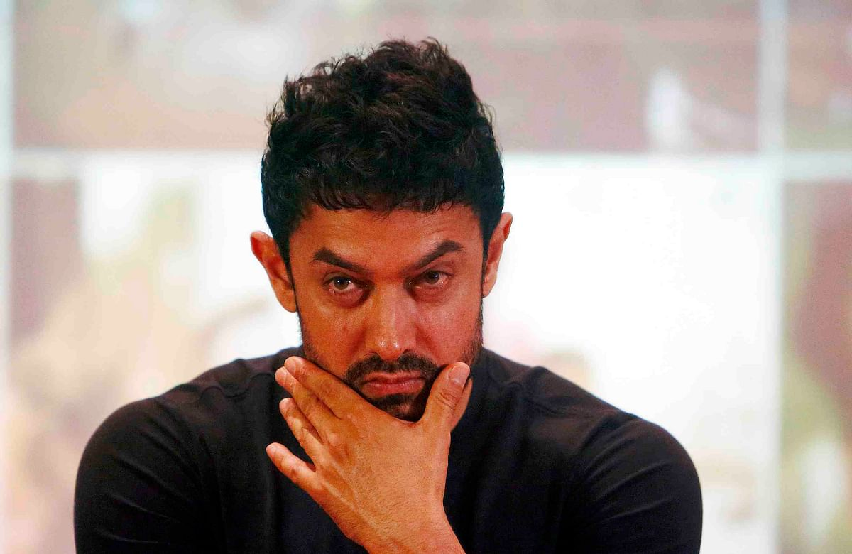Aamir Khan at a news conference (Photo: Reuters)