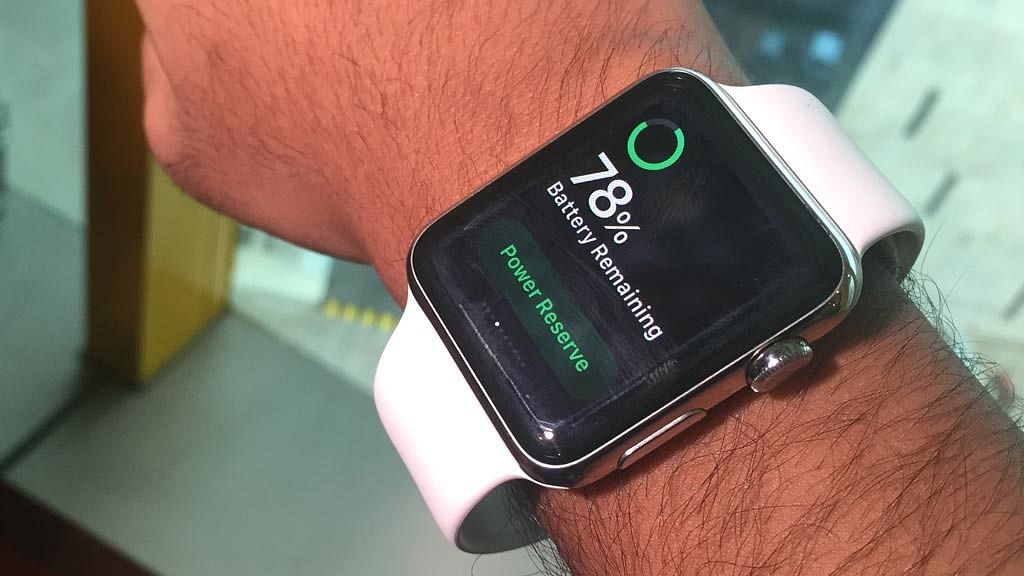 Apple Watch uses low powered bluetooth connectivity. (Photo: <b>The Quint</b>)