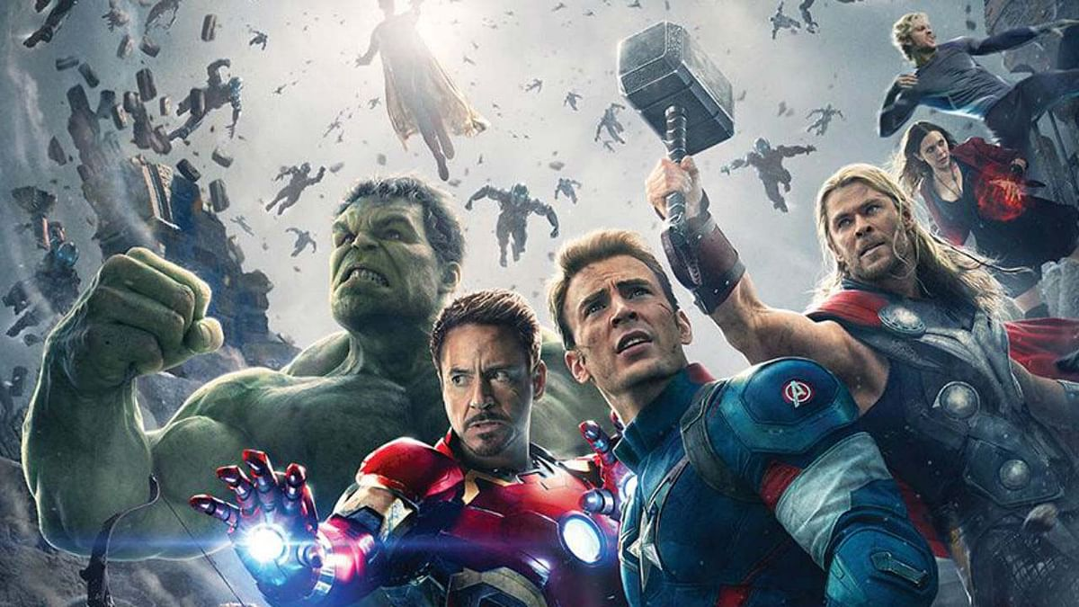 A publicity still of <i>The Avengers</i>