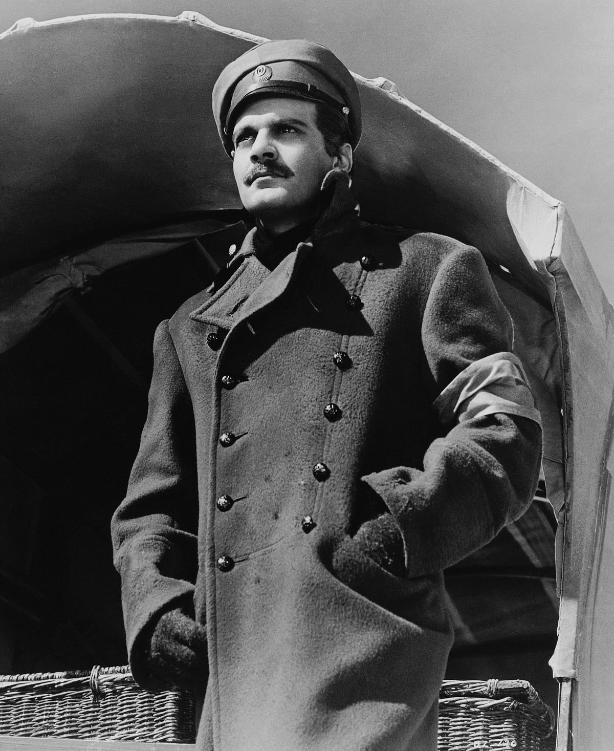 1965 file photo from Metro Goldwyn-Mayer shows actor Omar Sharif, in the movie based on Boris Pasternak' s Doctor Zhivago location unknown. (Photo: AP)