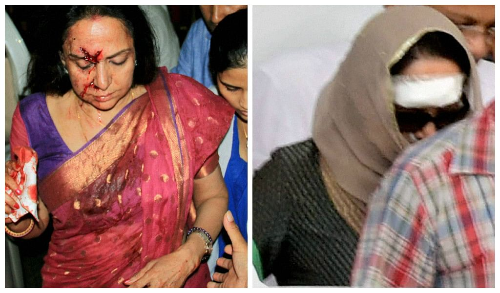 Doctors have given Hema Malini six weeks to fully recover from her injuries (Photo: PTI)