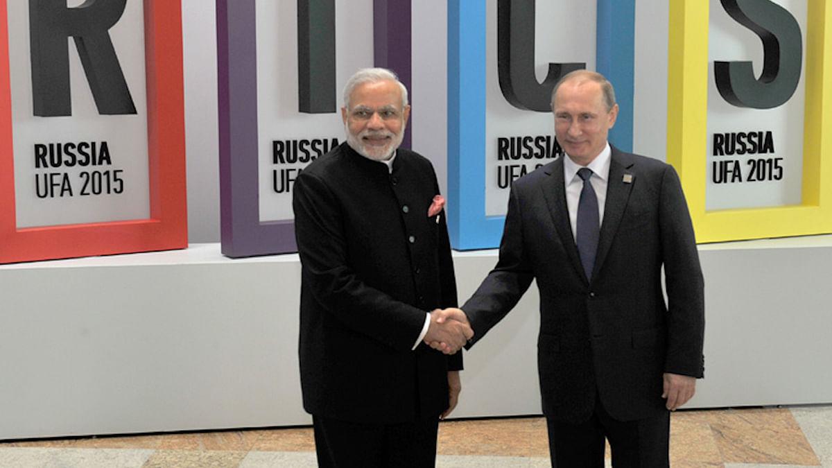 Prime Minister Narendra Modi and Russian President Vladimir Putin. (Photo: AP)
