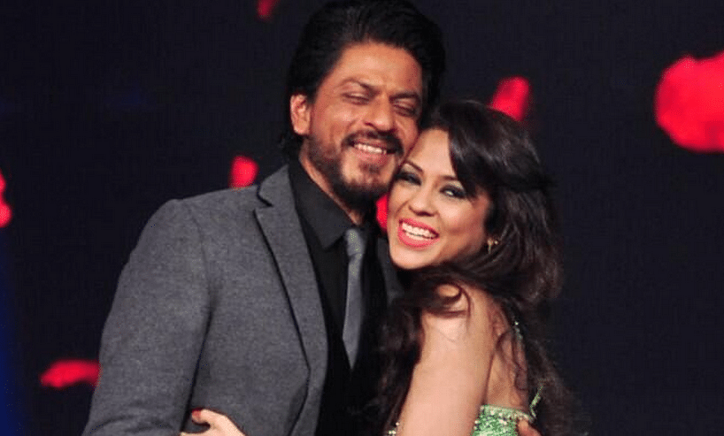 """SRK met the grown up Sana Saeed on a popular reality show (Photo: Twitter/<a href=""""https://twitter.com/alyaaoreo/status/467594210581811200"""">@alyaaoreo</a>)"""