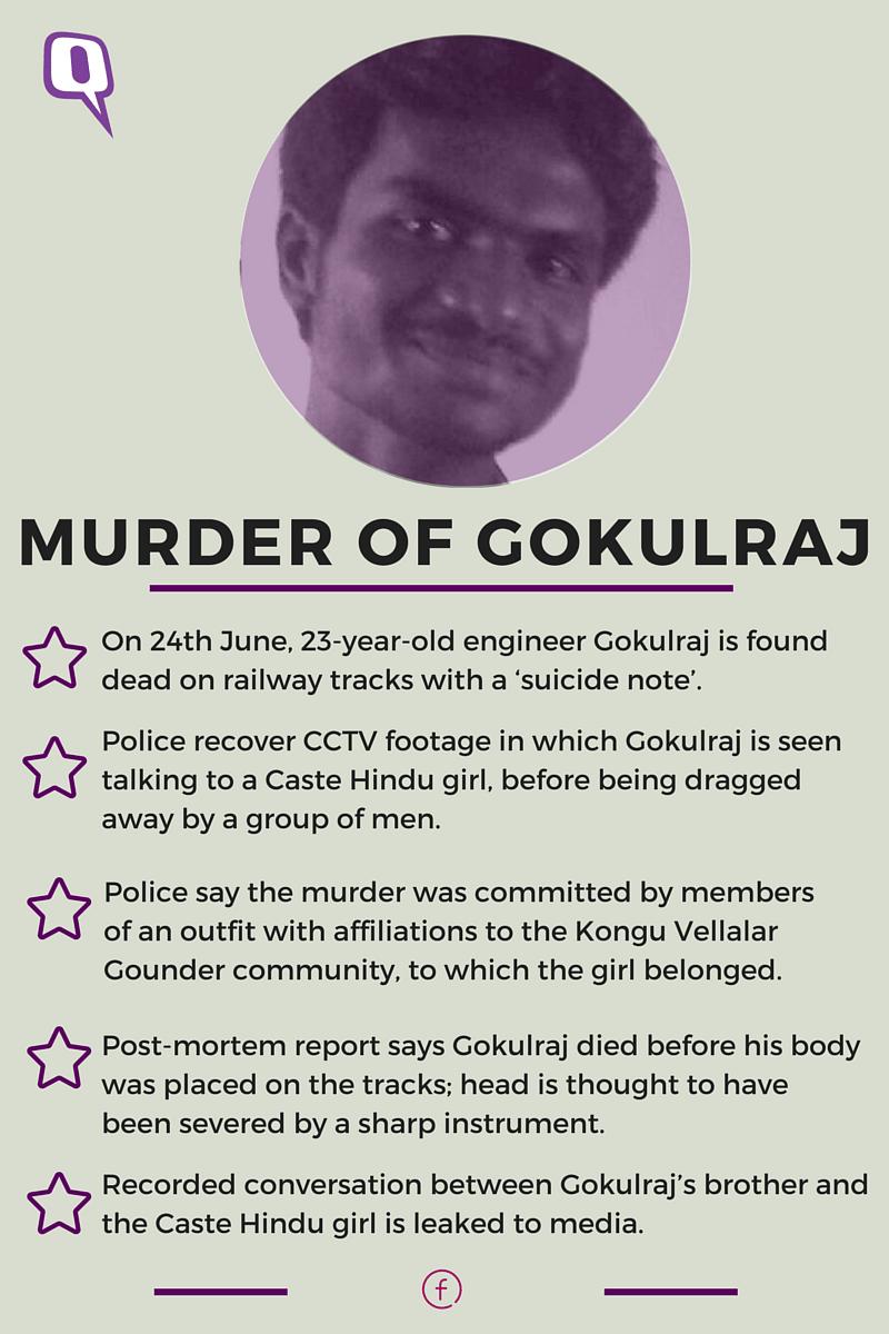 Gokulraj Murder: Why has the Dravida Movement Ignored Dalits?