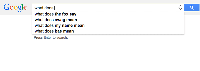 These Google Search Suggestions Are So Bad, They're Actually Good
