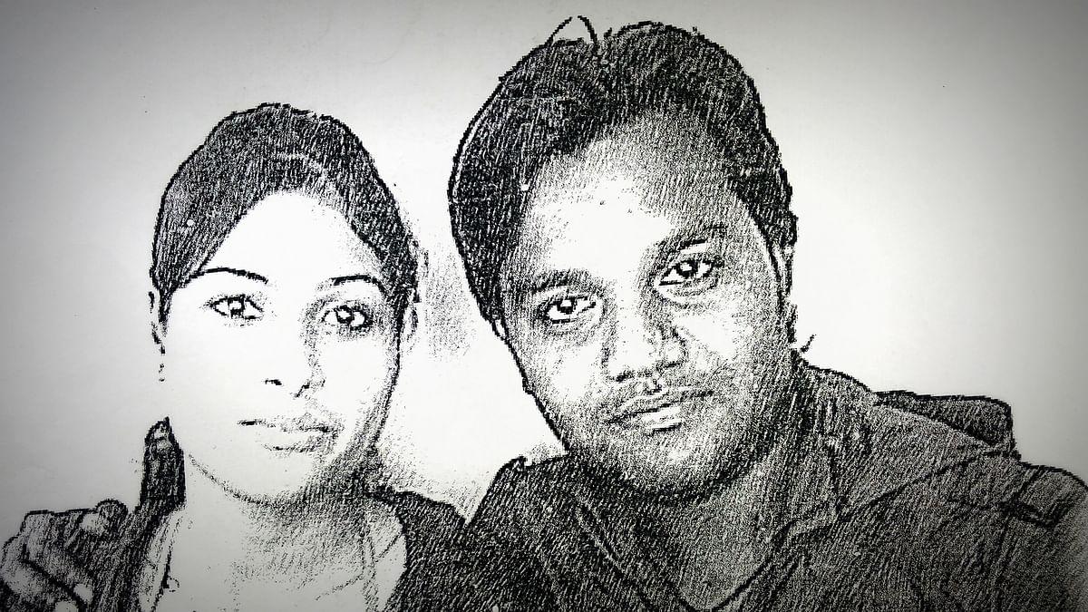 Namrata Damor with one Dr Vishal Sharma.