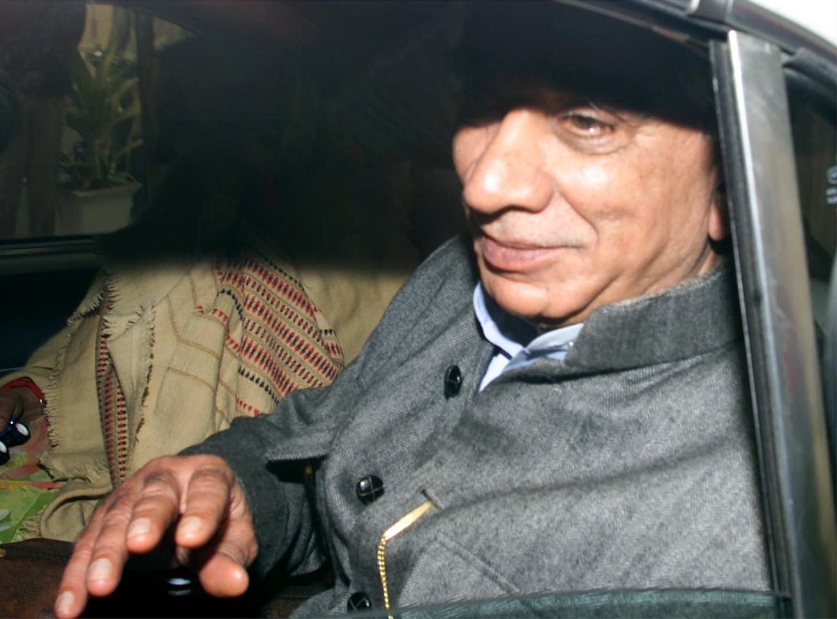 Then External Affairs Minister Jaswant Singh